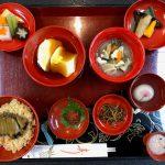 34. 松前藩のお殿様の婚礼料理を再現した「藩主料理」