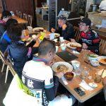 6. 木古内町の道の駅の中のレストラン「どうなんde's」でイタリアンランチ